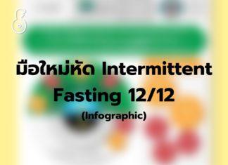 มือใหม่หัด Intermittent Fasting 12/12