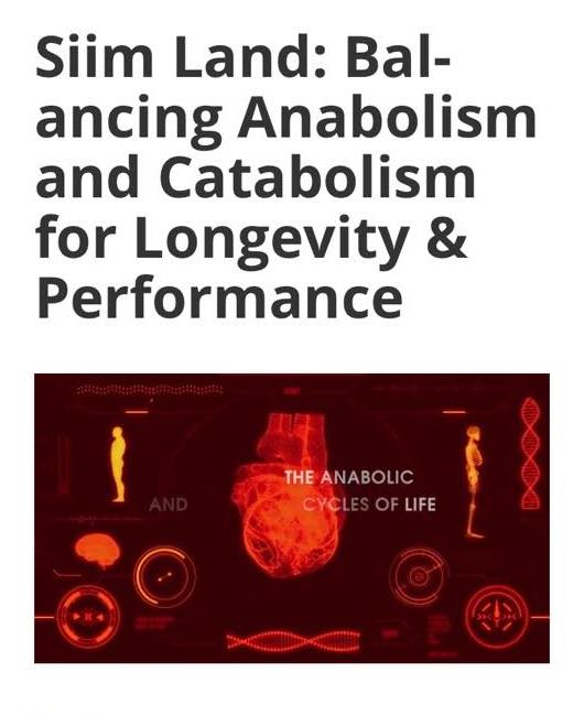 Siim Lan: Balancing Anabolism and Catabolism for Longevity & Performance