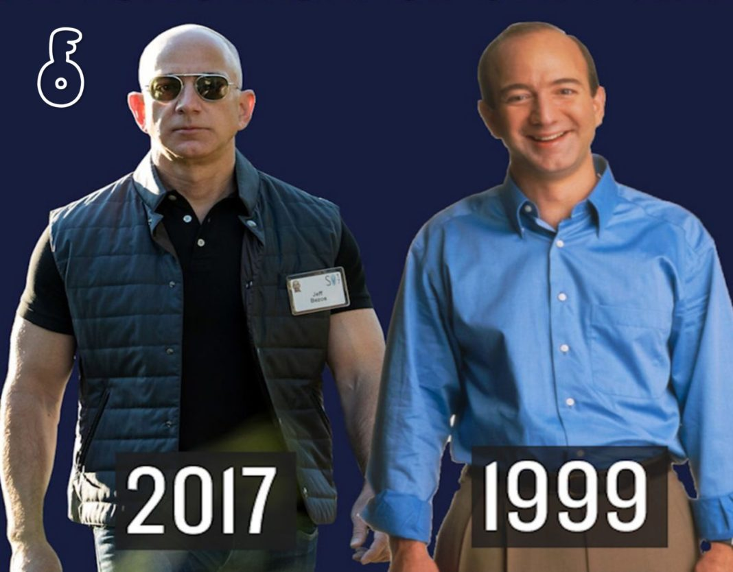 The Evolution of Jeff Bezos