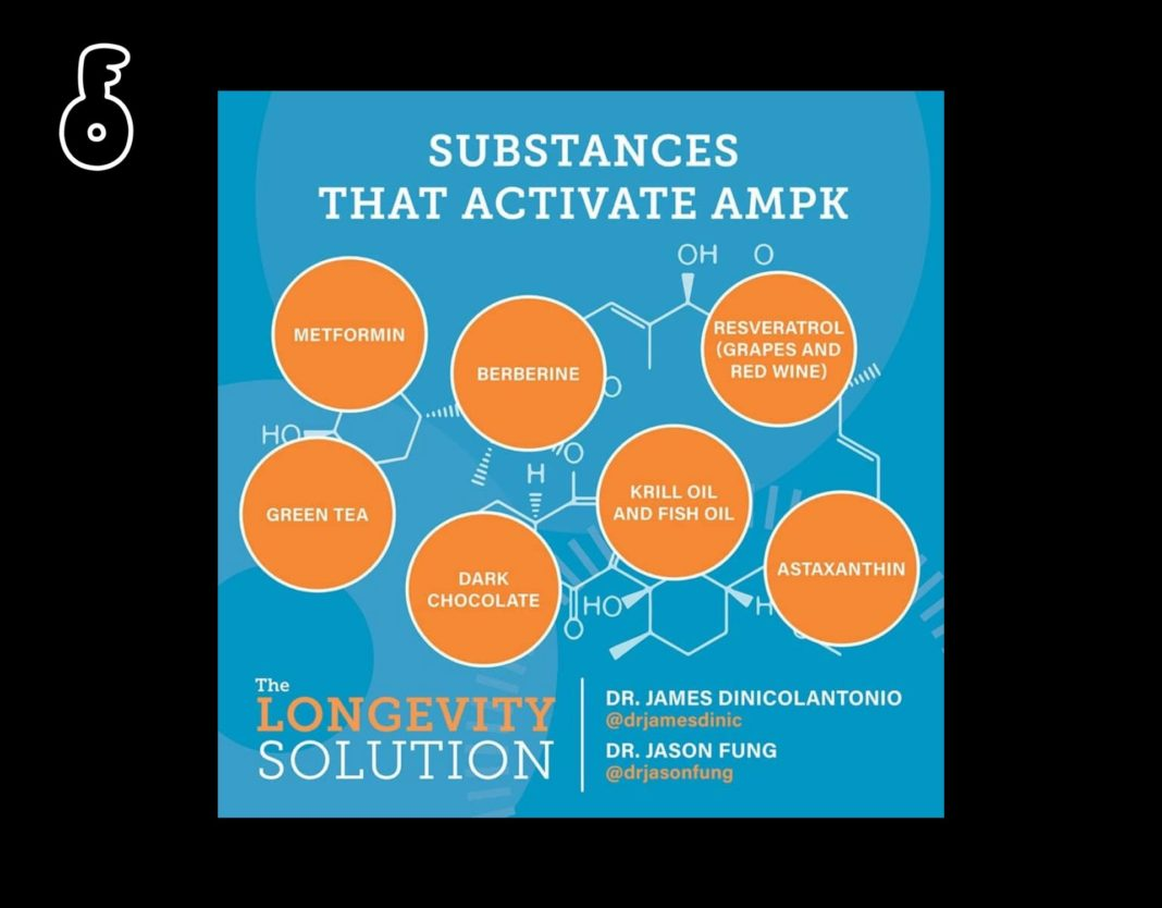 Substances that activate AMPK