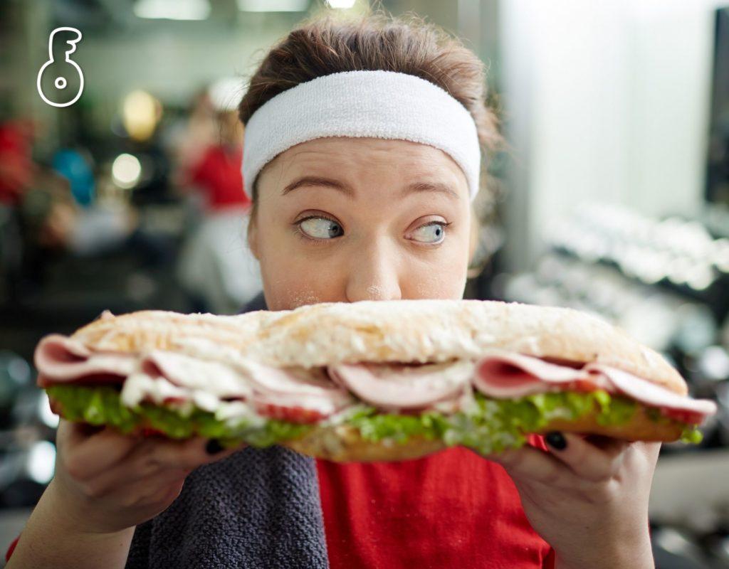อย่ากินอาหารก่อนออกกำลังกาย